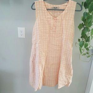 Flax Linen Dress Size Small